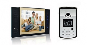 video intercom singapore 8 inch